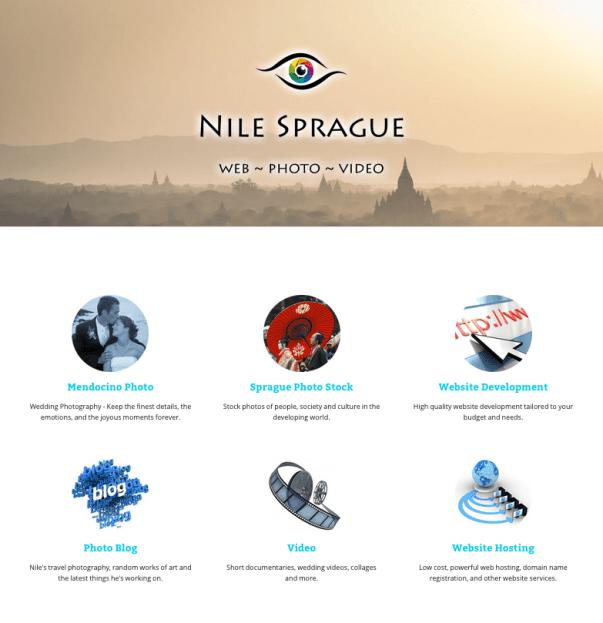 New website: nilesprague.com