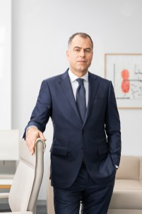 Jan-Dirk Auris ( Vorstand Adhesive Technologies) / Henkel AG / Düsseldorf 2019 / Fotograf: Nils Hendrik Mueller