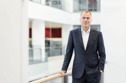 Jan-Dirk Auris, Vorstand / Henkel AG / Geschäftsbericht 2020 / Düsseldorf 2021 / Fotograf: Nils Hendrik Mueller