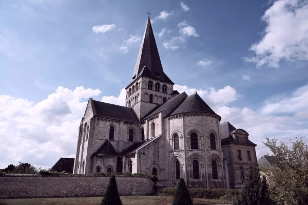 L'abbaye Saint Georges de Boscherville