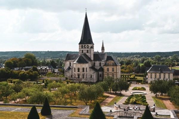 L'abbaye St-Georges et ses jardins