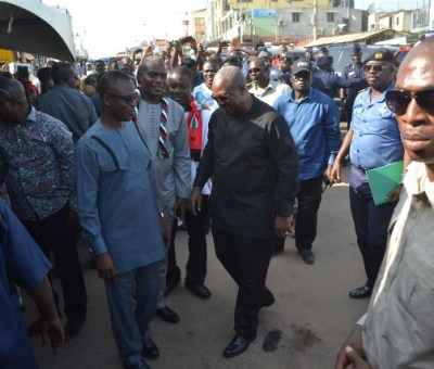 """President Mahama resumes his """"Accounting to the People"""" tour"""