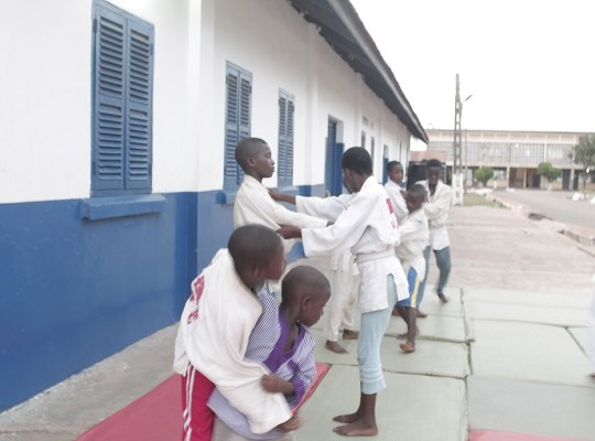 Ghana Borstal Prisons Judo Training