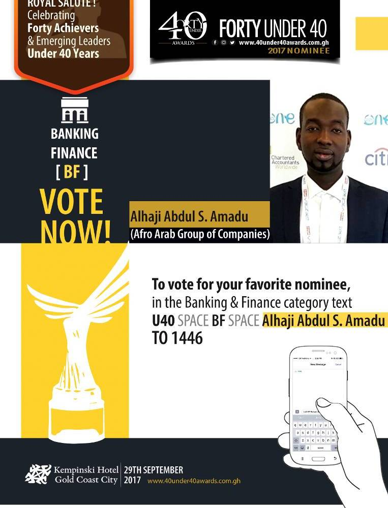 From the Streets of Nima to 40 Under 40 Nominee