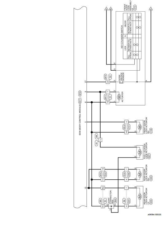 nissan maxima service and repair manual  power door lock