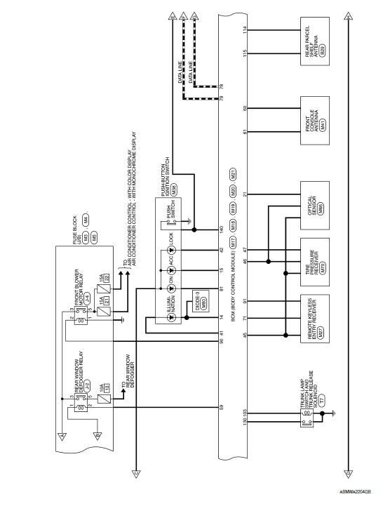 nissan maxima service and repair manual  wiring diagram