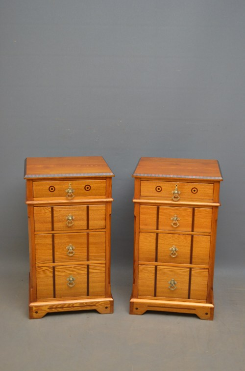 Victorian bedside cabinets