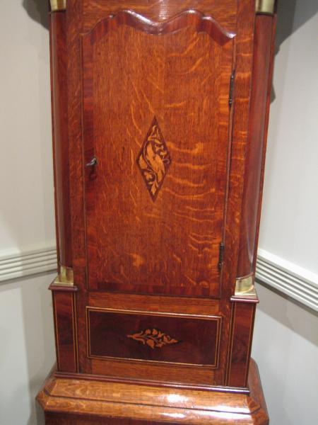 Early Victorian Longcase Clock by D. Bowen, Alfreton