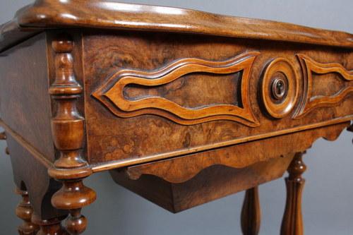 Victorian Walnut Work Table