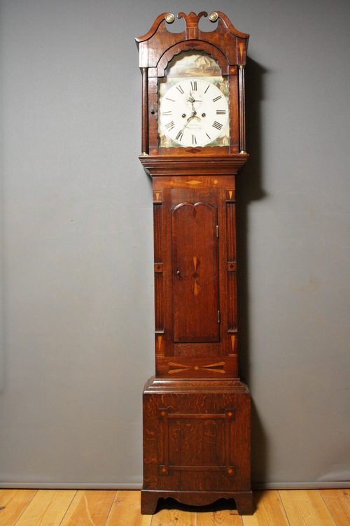 William IV Longcase Clock by Hillier, Basignstoke