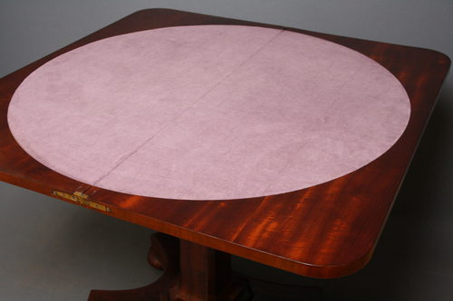 William IV Games Table