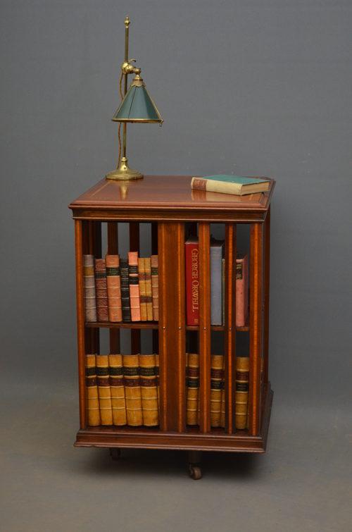 Edwardian Revolving Bookcase