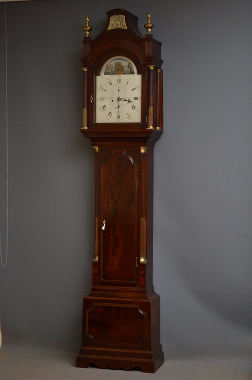 George III Longcase Clock by Robert Wood, London