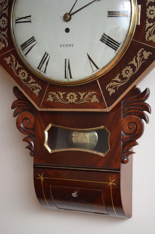 Whitehurst of Derby Wall Clock