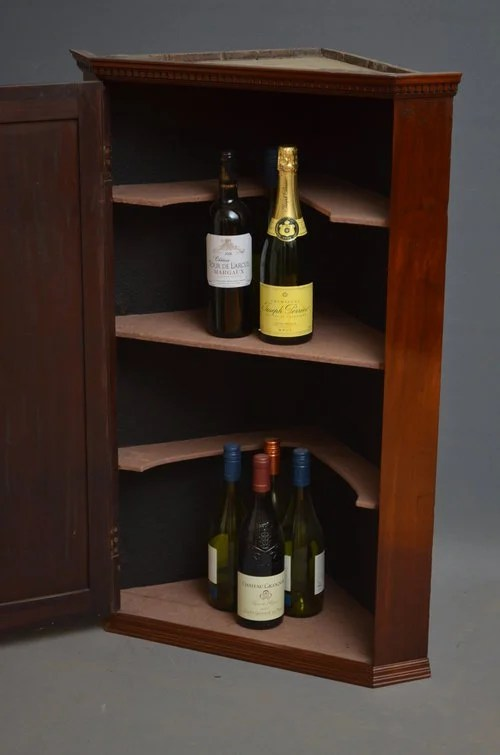 Georgian Drinks Cabinet - Corner Cupboard