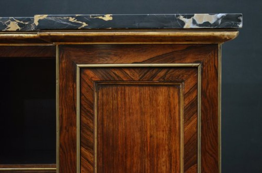 Exceptional Regency Rosewood Cabinet