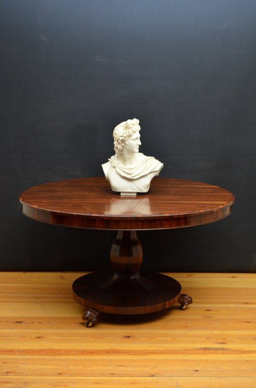 Elegant William IV Dining Table / Breakfast Table in Rosewood