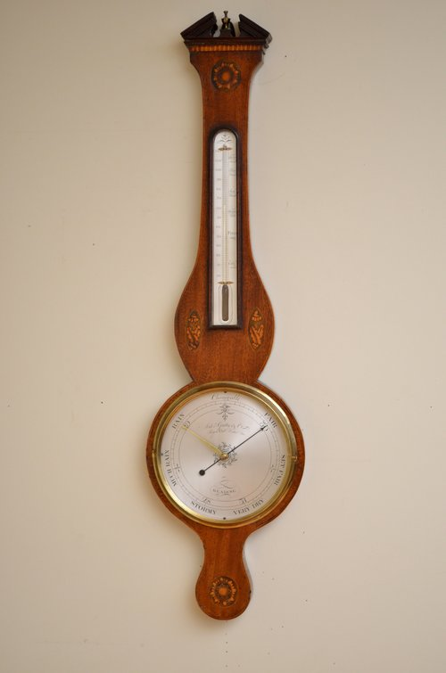 A Fine Quality Regency Wheel Barometer A. Gatty