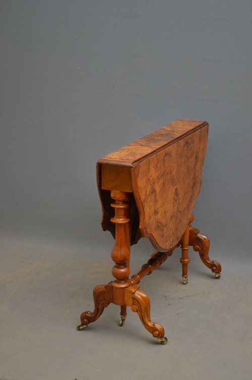 Elegant Victorian Sutherland Table