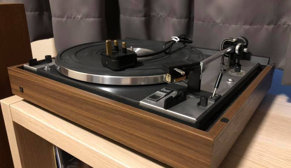 DUAL CS 601 2-Speed Full Automatic Turntable