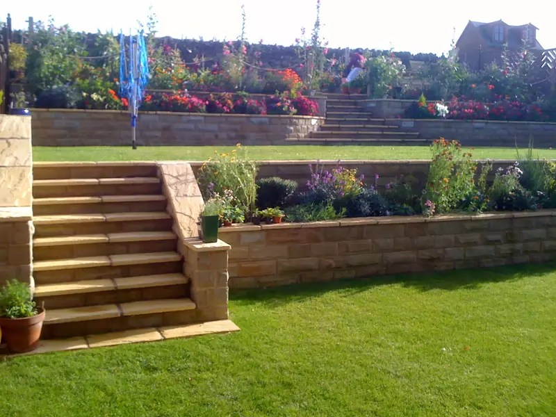 Environmental Services | Nimrod on Tiered Yard Ideas  id=12504