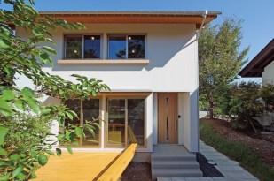 新モデルハウス「木の箱」