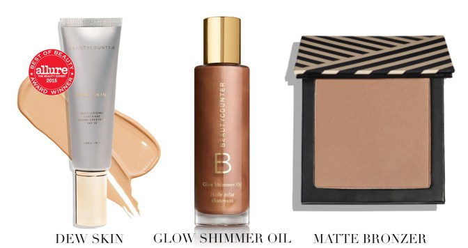 beautycounter summer glow products