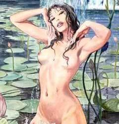 Milo Manara dibuja mujeres de 2020
