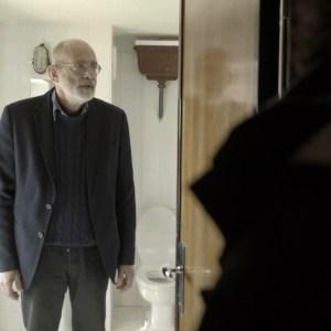 Conversazioni Atomiche screenshot dal film con Felice Farina a Campo Imperatore