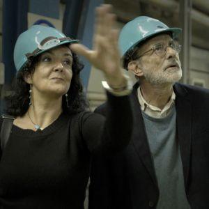 Conversazioni Atomiche screenshot dal film con Catalina Curceanu
