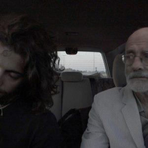 Felice Farina e Nicholas di Valerio in viaggio nel film documentario Conversazioni Atomiche