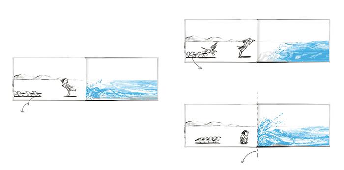 La trilogía del limite-Suzy Lee-la ola