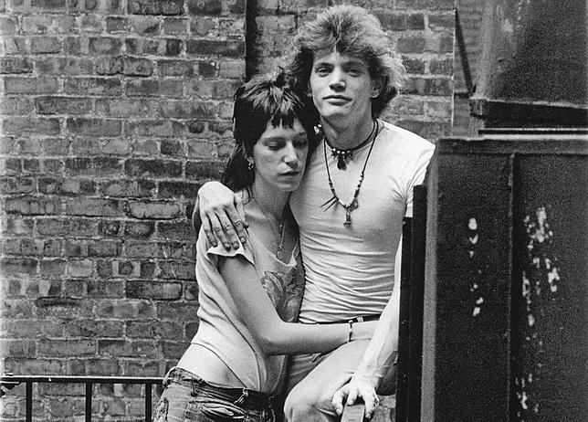 patti smith y robert mapplethorpe