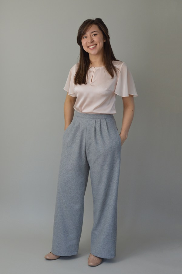 Nina Lee Portobello trouser grey