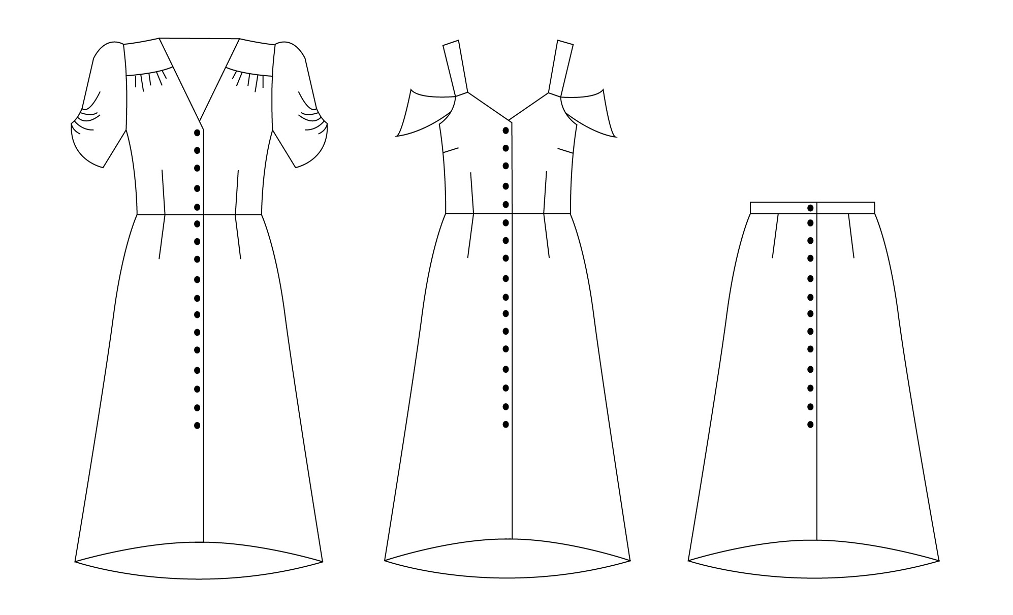 Kew Dress Sewing Pattern