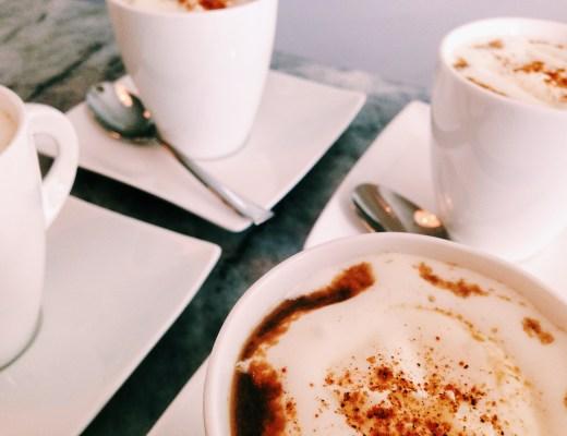 Paddenstoelen cappuccino
