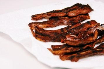 Witlofsoep met bieslook & crispy bacon