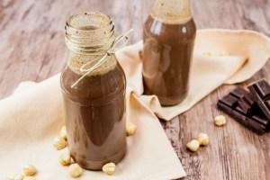 Chocolade-hazelnootlikeur