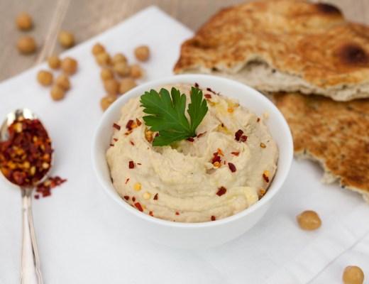Hummus met kikkererwten
