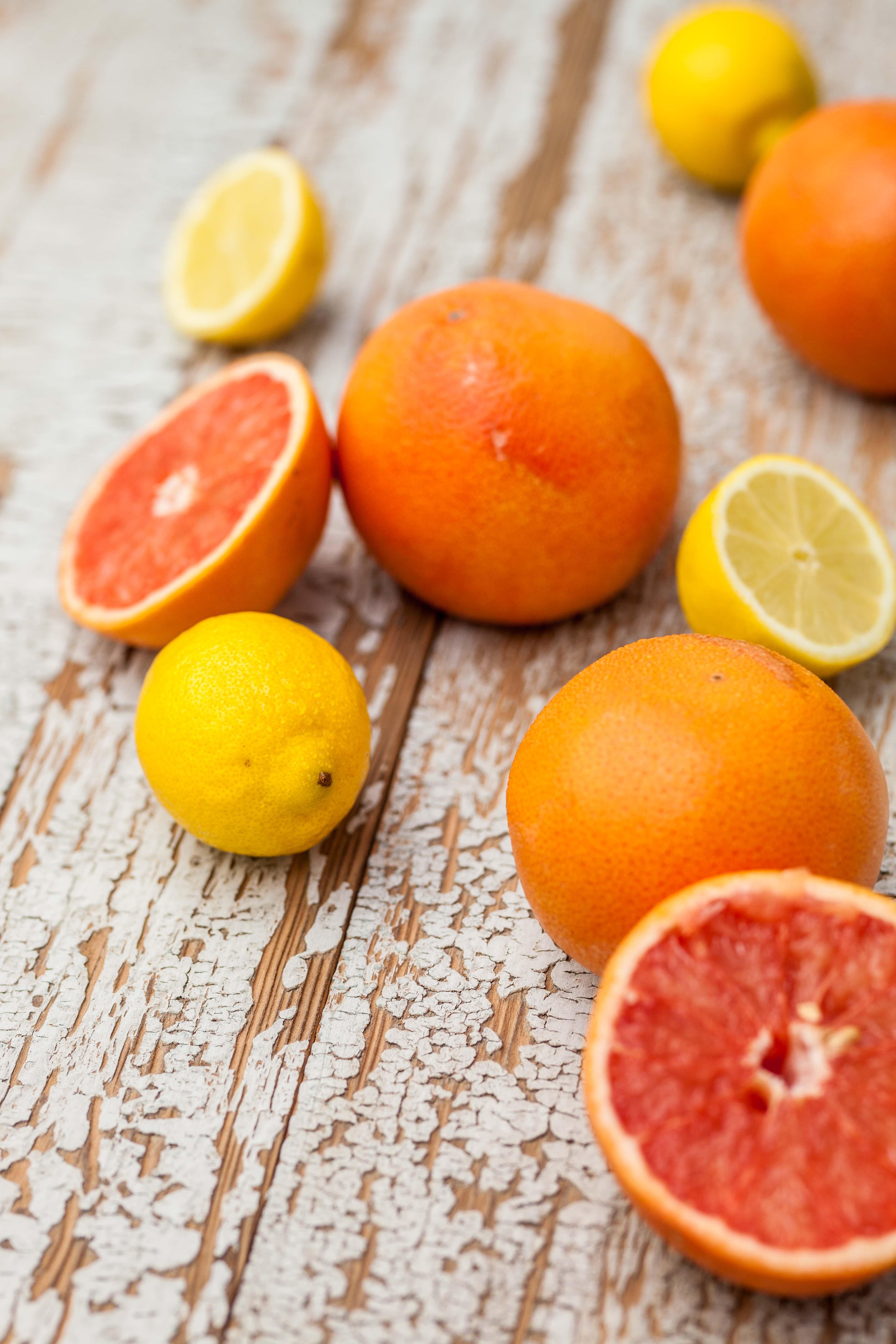 Grapefruit-venkelsalade met garnalen & yoghurtdressing
