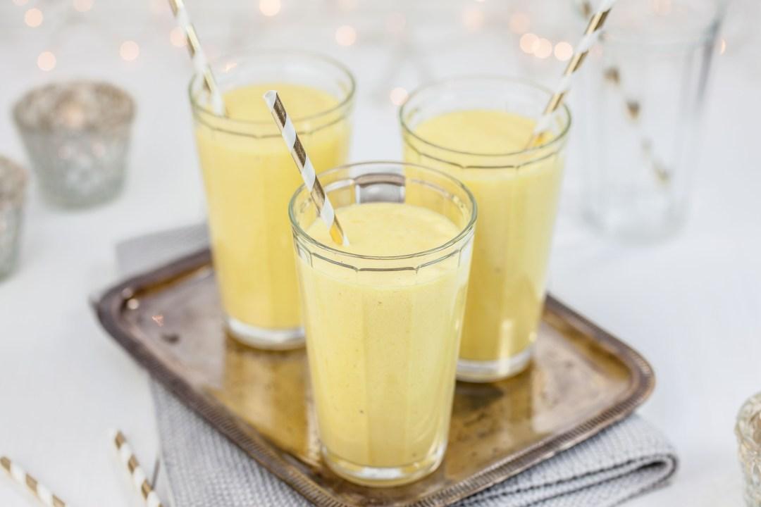 Mangosmoothie met gember & kokosmelk