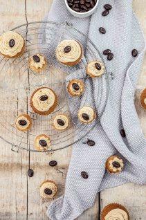 Cupcakes met mokkacrème