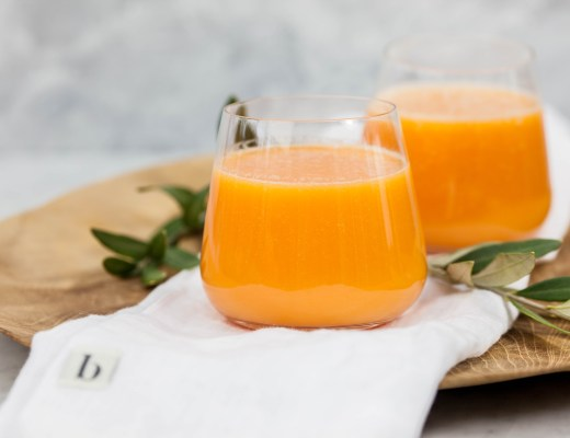 Smoothie van wortel, mango & gember