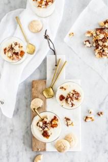 Citroen-mascarponemousse met amaretticrunch