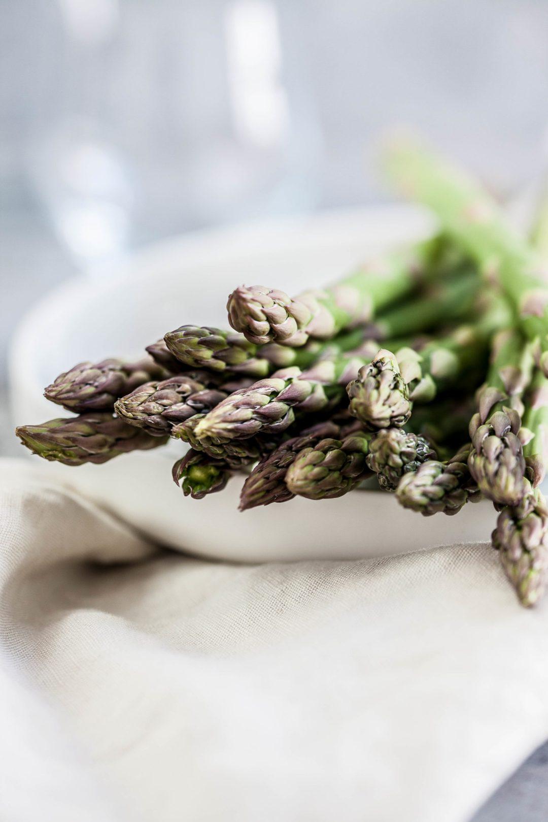 Risotto met venkel, gegrilde asperges & pecorino