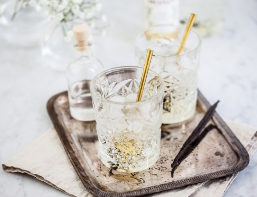 Vanille-gin cocktail