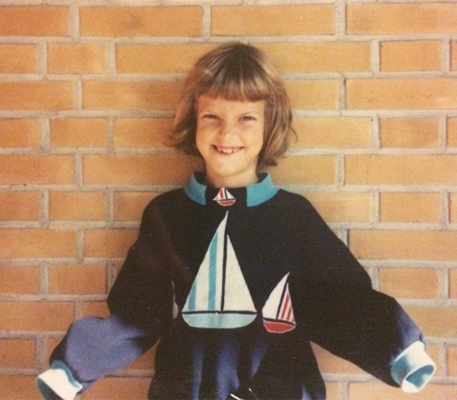 Nina Marquardsen i 1993 - oprydning