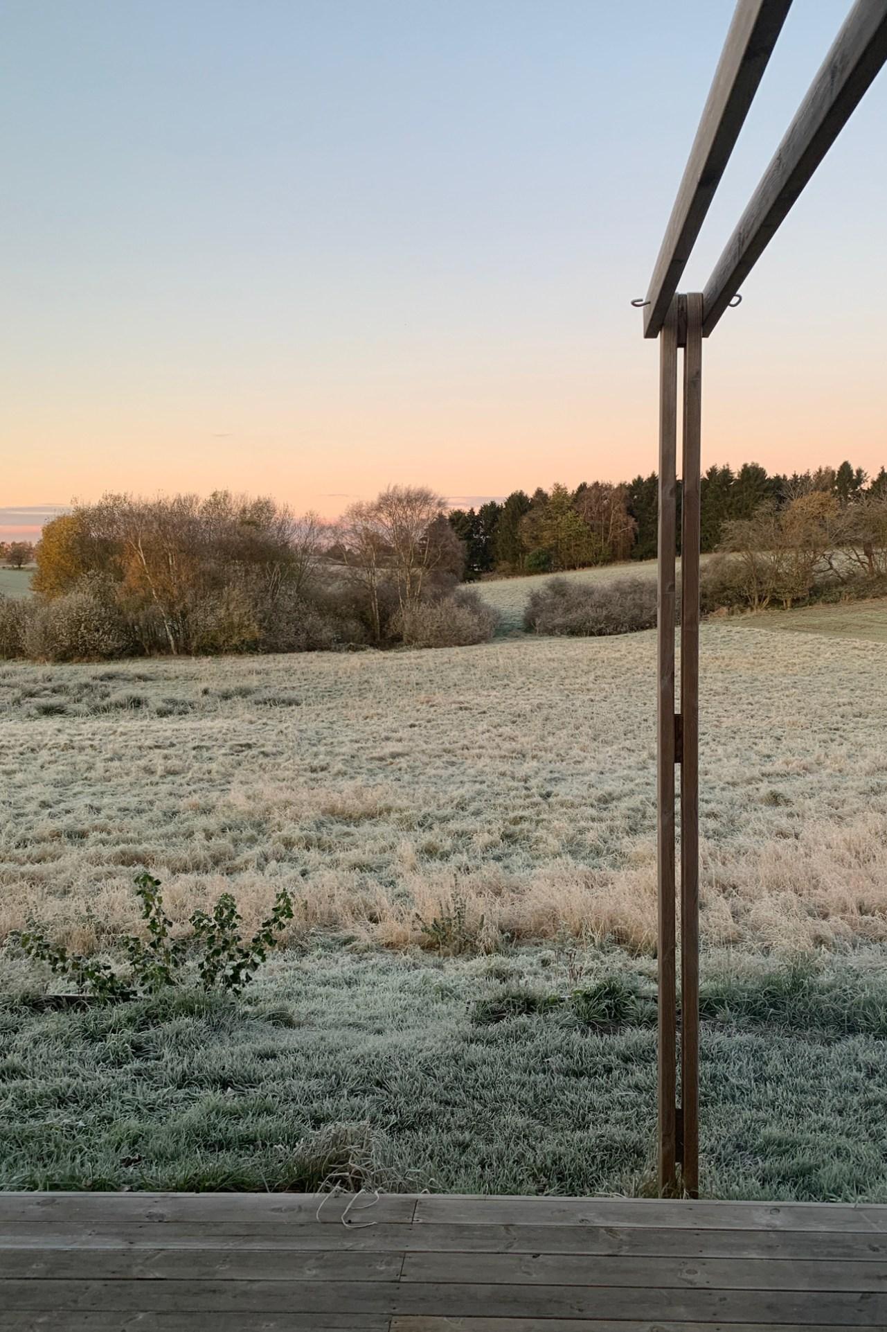 Post partum og rimfrost