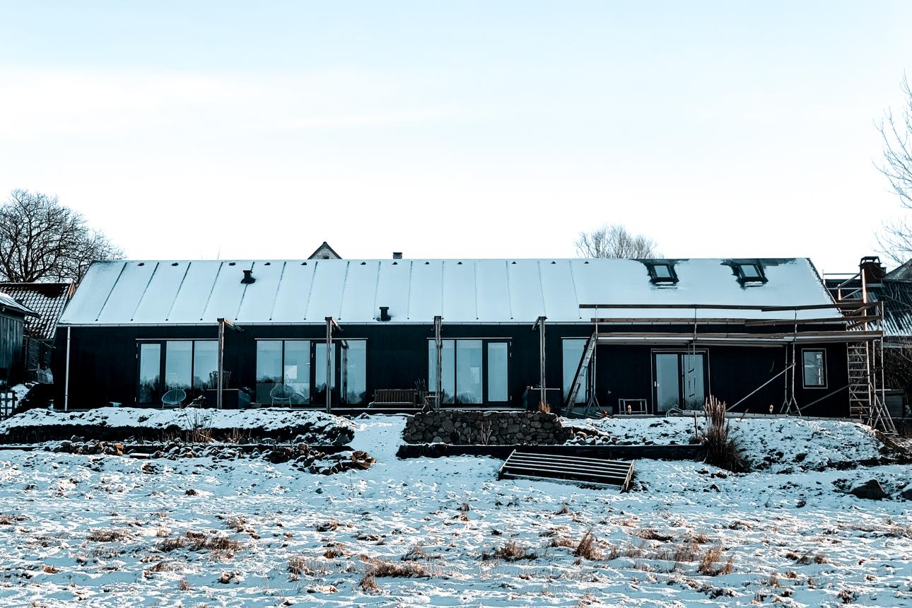 Snevejr i Nordsjælland januar 2021