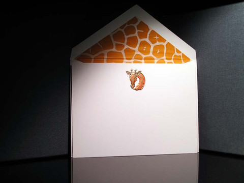 Giraffe - Collins Stationery